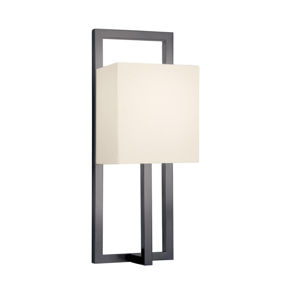 Sonneman 4441.32 Linea Tall Sconce in Black Bronze
