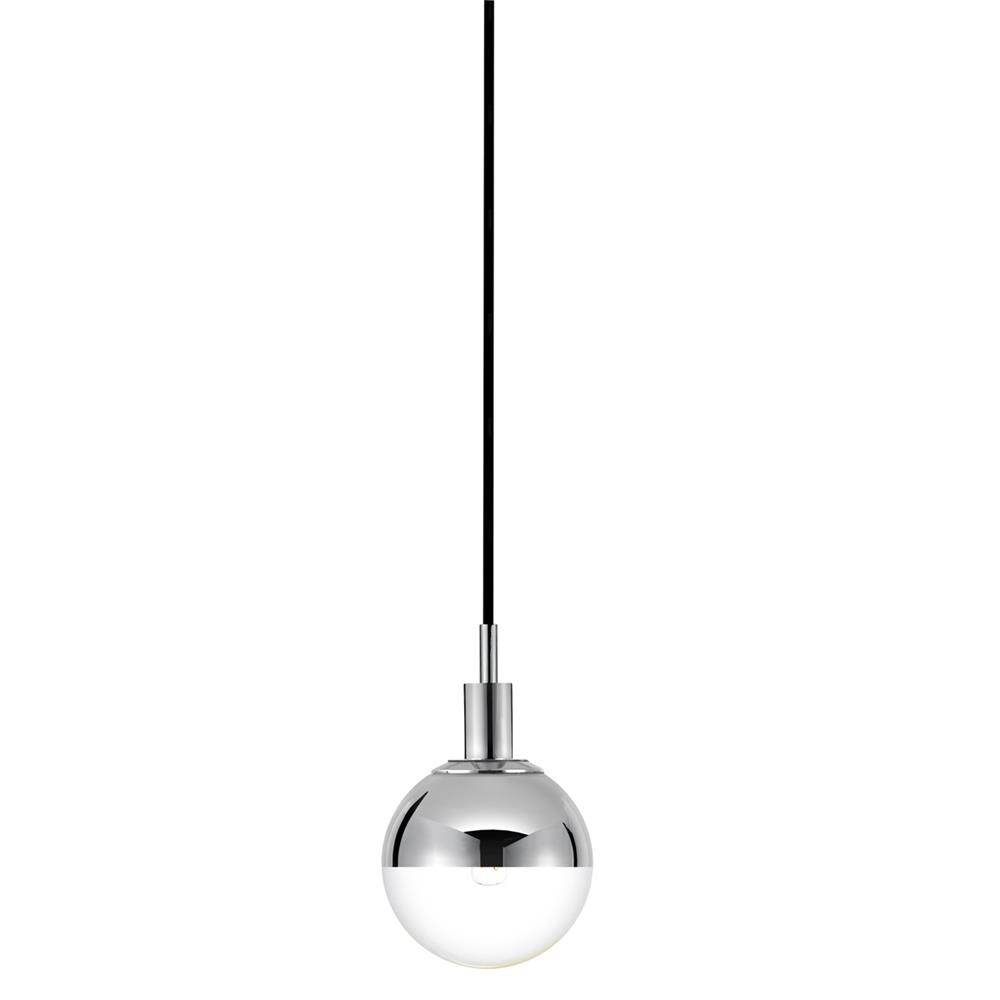 Sonneman 4591.01H Orb Pendant in Polished Chrome