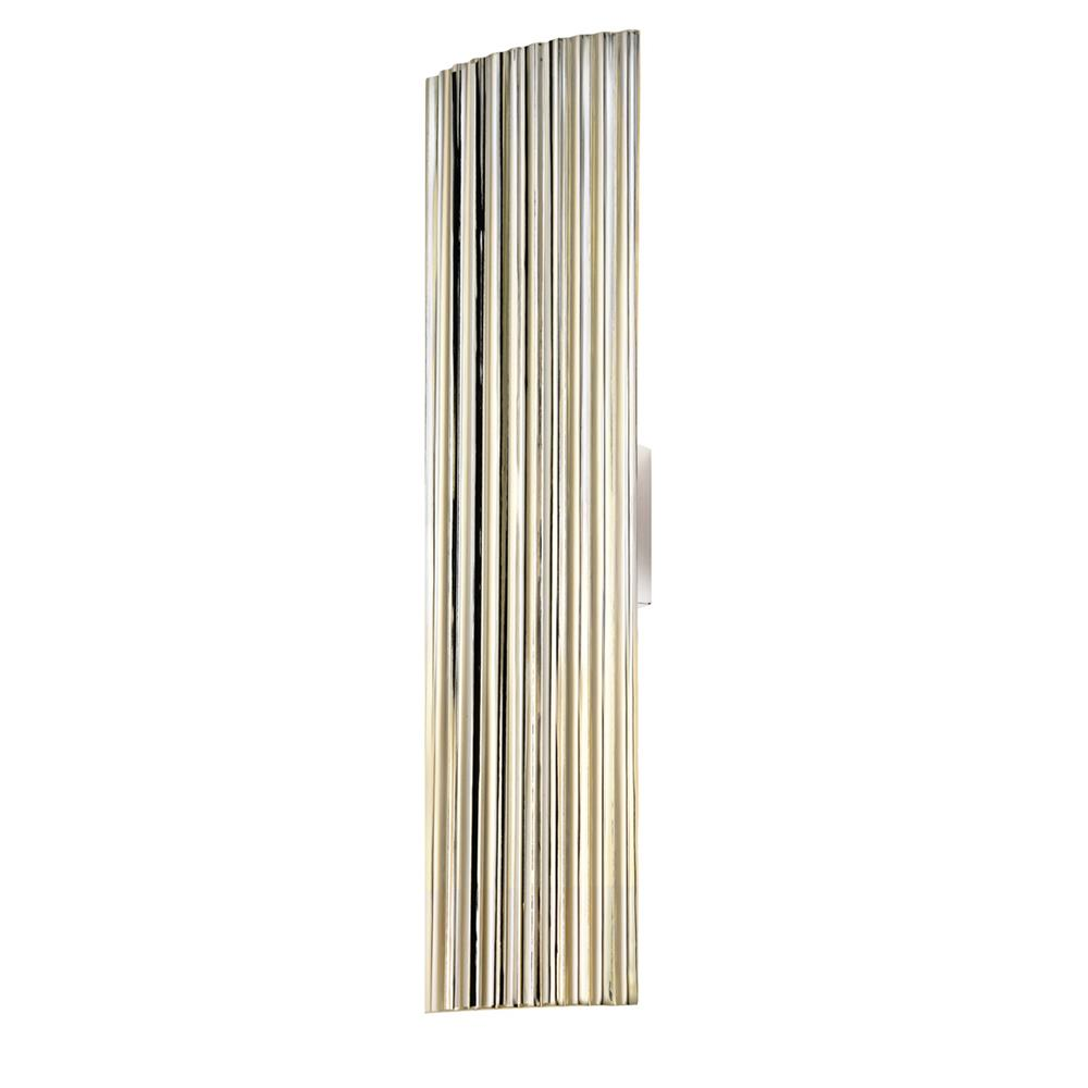 "Sonneman 4622.35 Paramount 24"" Sconce in Polished Nickel"