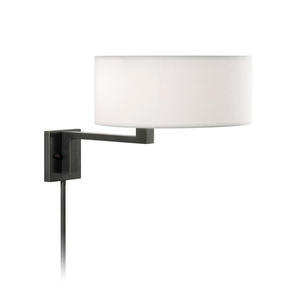 Sonneman 6089.51 Quadratto Swing Wall Lamp in Black Brass