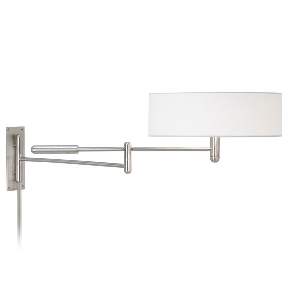 Sonneman 7002.13 Perno Wall Lamp in Satin Nickel