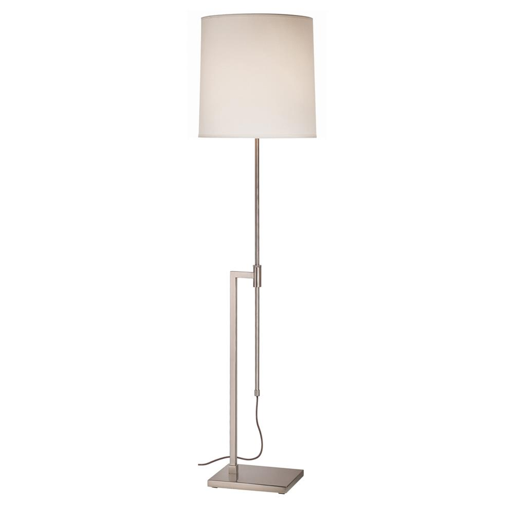 Sonneman 7008.13 Palo Floor Lamp in Satin Nickel