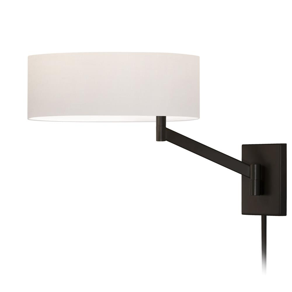 Sonneman 7080.27 Perch Swing Arm Wall Lamp in Coffee Bronze
