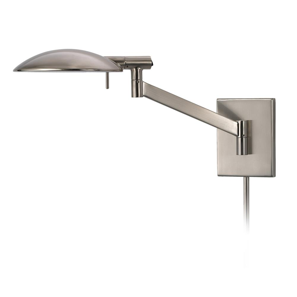 Sonneman 7085.13 Perch Pharmacy Swing Arm Wall Lamp in Satin Nickel