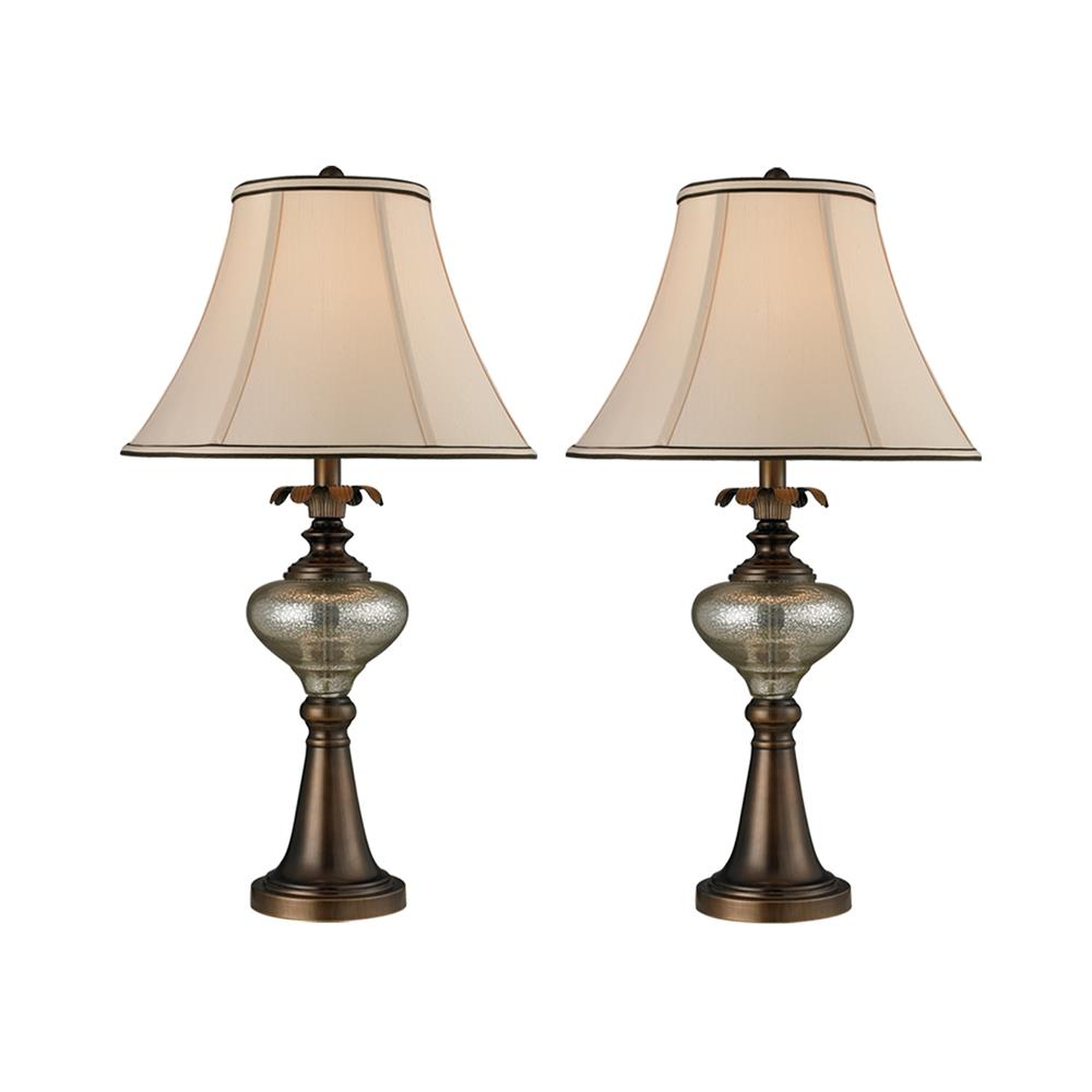 Springdale Lighting PC14314 Bingham 2-Piece Table Lamp Set