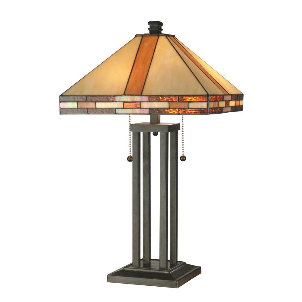 Springdale Lighting STT11005 Bellow Mission Table Lamp
