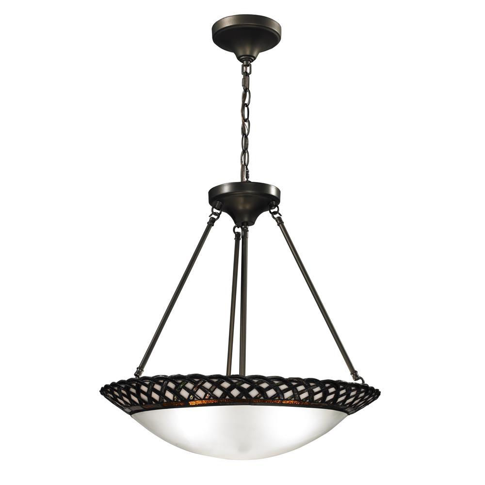 Springdale Lighting TH12317 Hillcrest Inverted Hanging Fixture