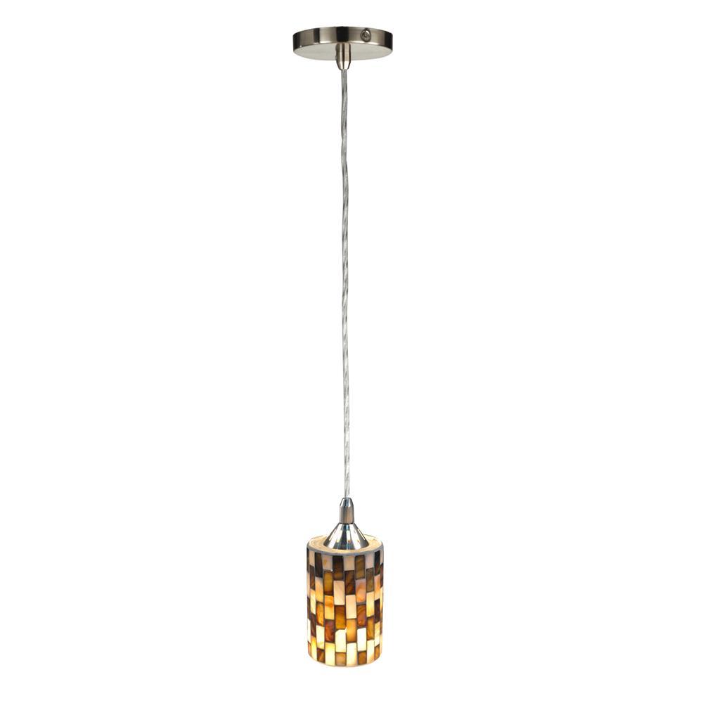 Springdale Lighting TH14188 Myriad Mosaic Mini Pendant
