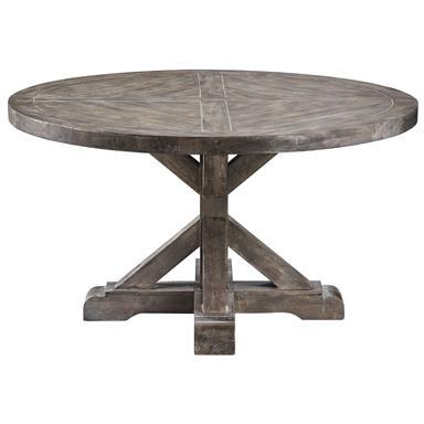 Steinworld 611-013 Bridgeport Round Cocktail Table