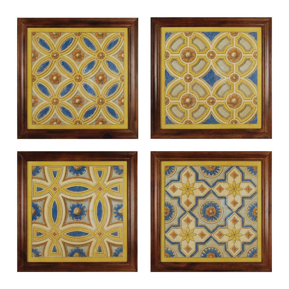 Sterling Industries 10236-S4 Florentine Tile I - Iv