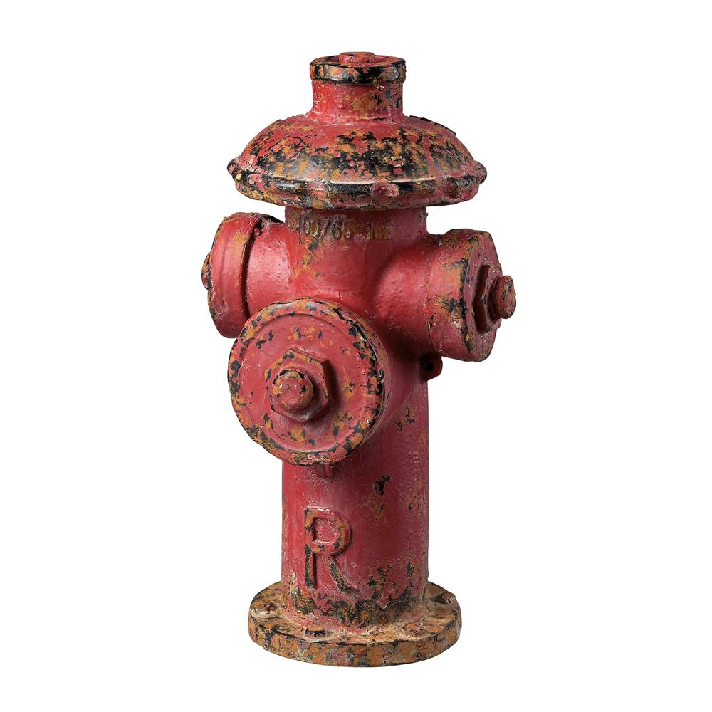 Sterling Industries 129-1025 Fire Hydrant Décor In Fire Hydrant Red