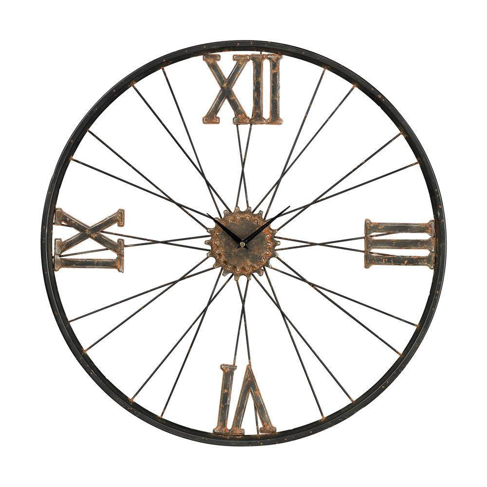 Sterling Industries 129-1088 Iron Wall Clock