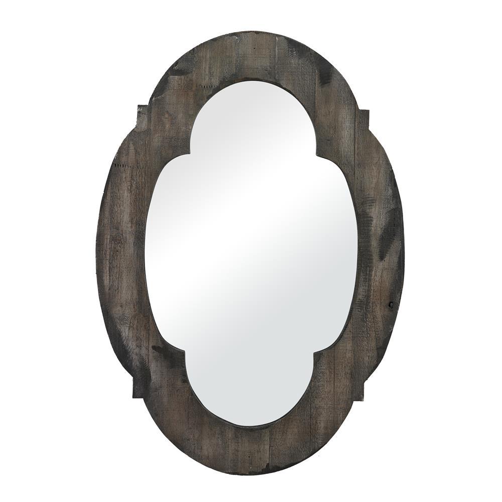 Sterling Industries 26-8654 Wood Framed Mirror In Grantham Grey
