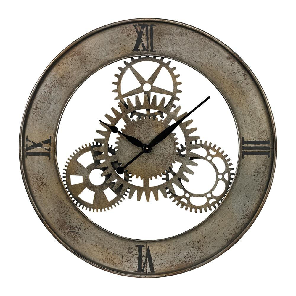 Sterling Industries 26-8666 Industrial Cog Wall Clock