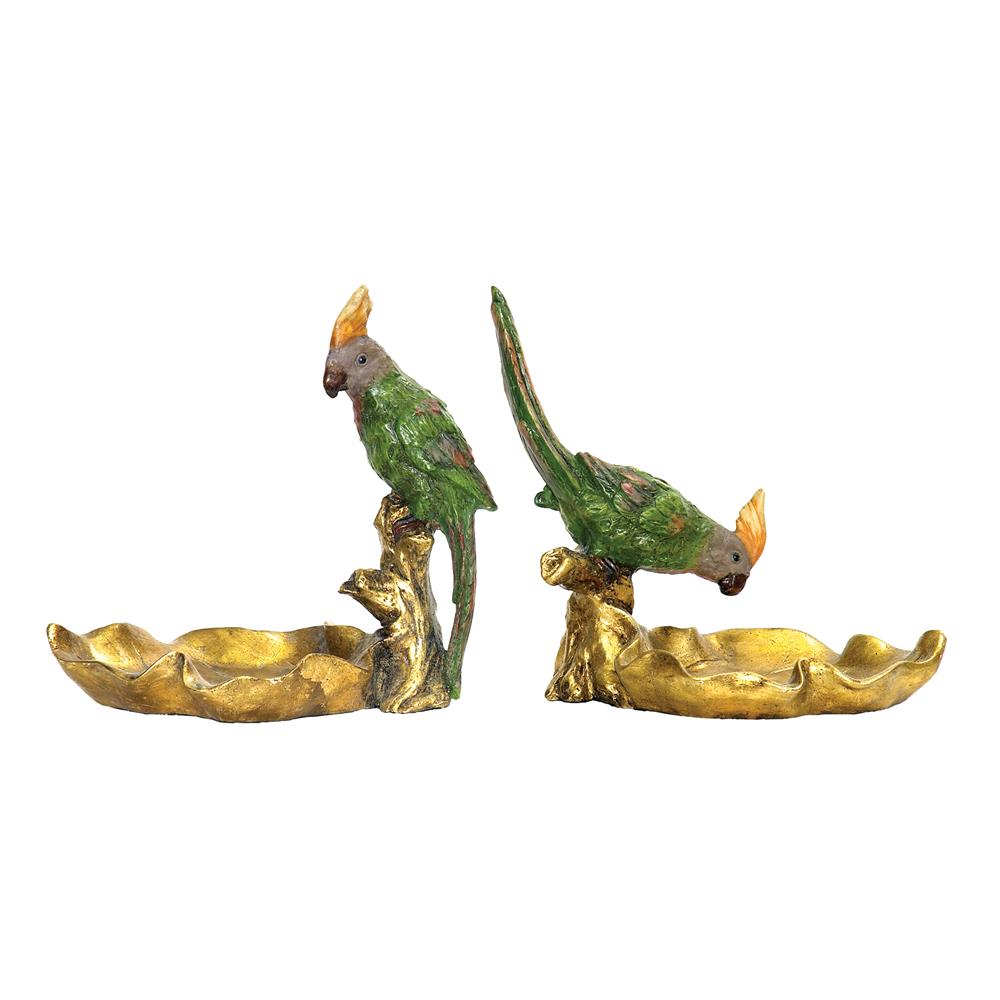 Sterling Industries 93-4180 Set/2 Tropical Dishes