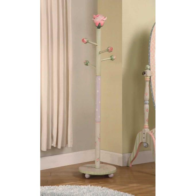 Fantasy Fields by Teamson W-7294A Crackled Rose Coat Tree