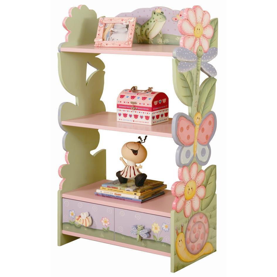Fantasy Fields by Teamson W-7500A Magic Garden Bookshelf