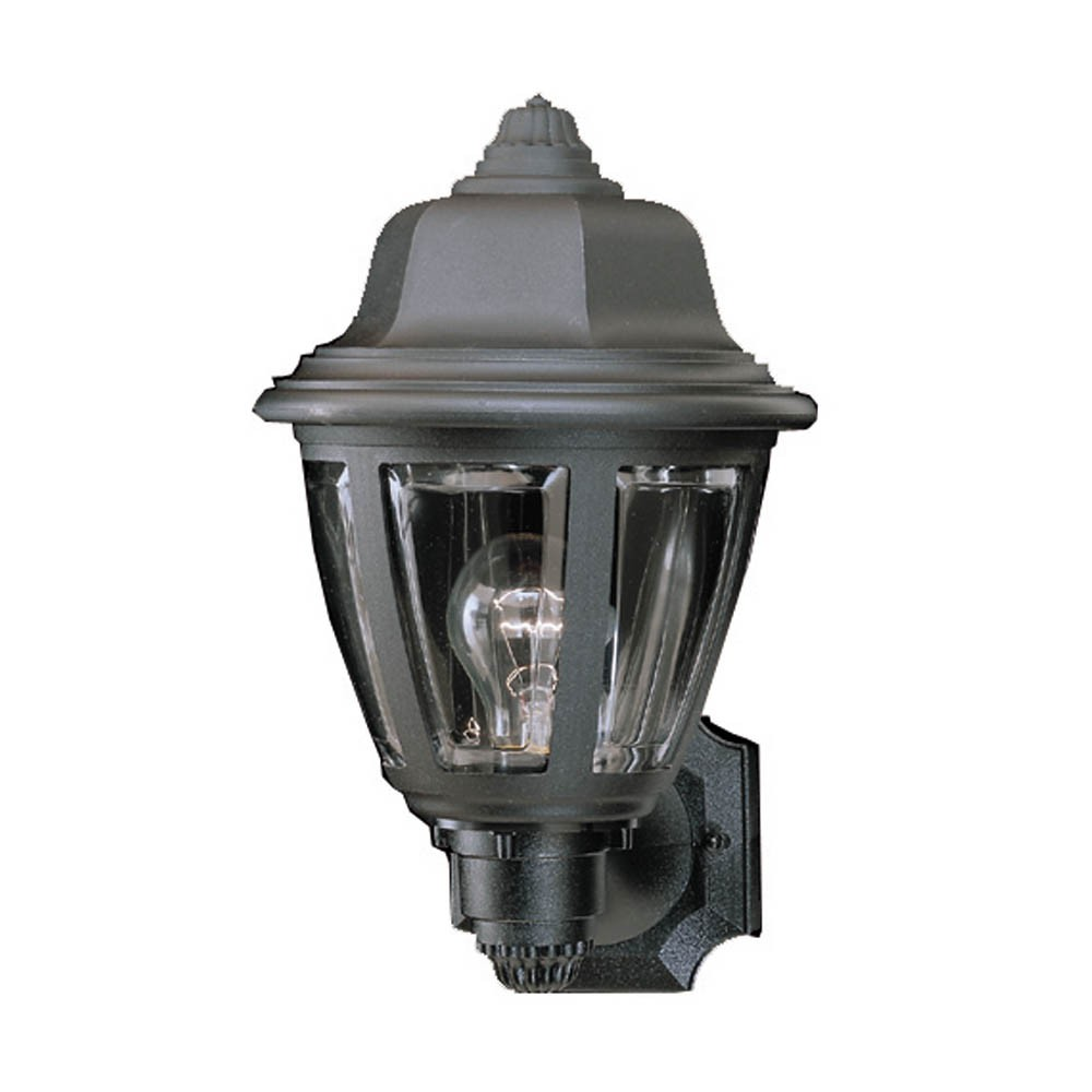 Wall Lantern External : SL94407 - Thomas Lighting SL94407 1-light Outdoor Wall Lantern in Black - GoingLighting
