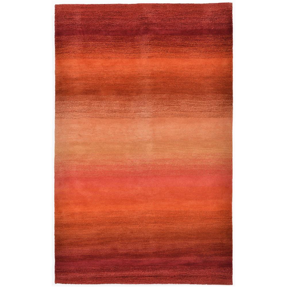 "Liora Manne OMB46962018 9620/18 Stripes Sunrise - 42"" X 66"""
