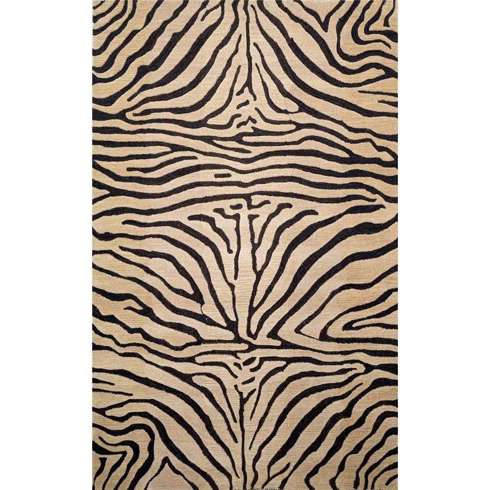 "Liora Manne SEV46962712 9627/12 Zebra Neutral - 42"" X 66"""