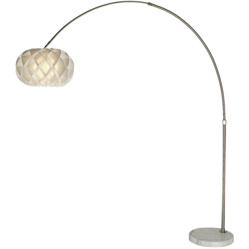 Tfa8538 Trend Lighting Tfa8538 Honeycomb Arc Floor Lamp