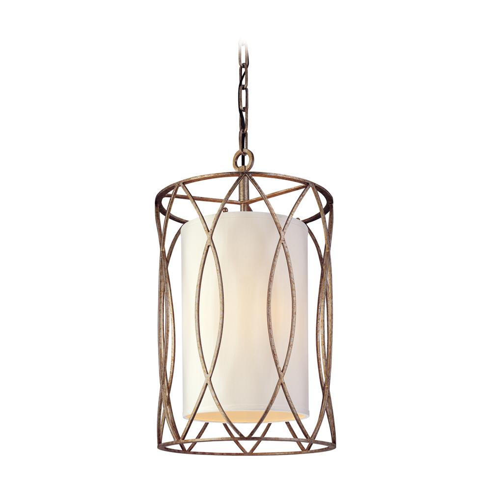 Troy Lighting F1287SG Sausalito 3 Light Small Entry in Silver Gold