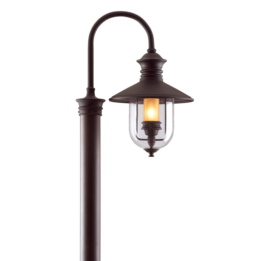 Troy Lighting P9364NB Old Town 1 Light Large Post Lantern in Natural Bronze