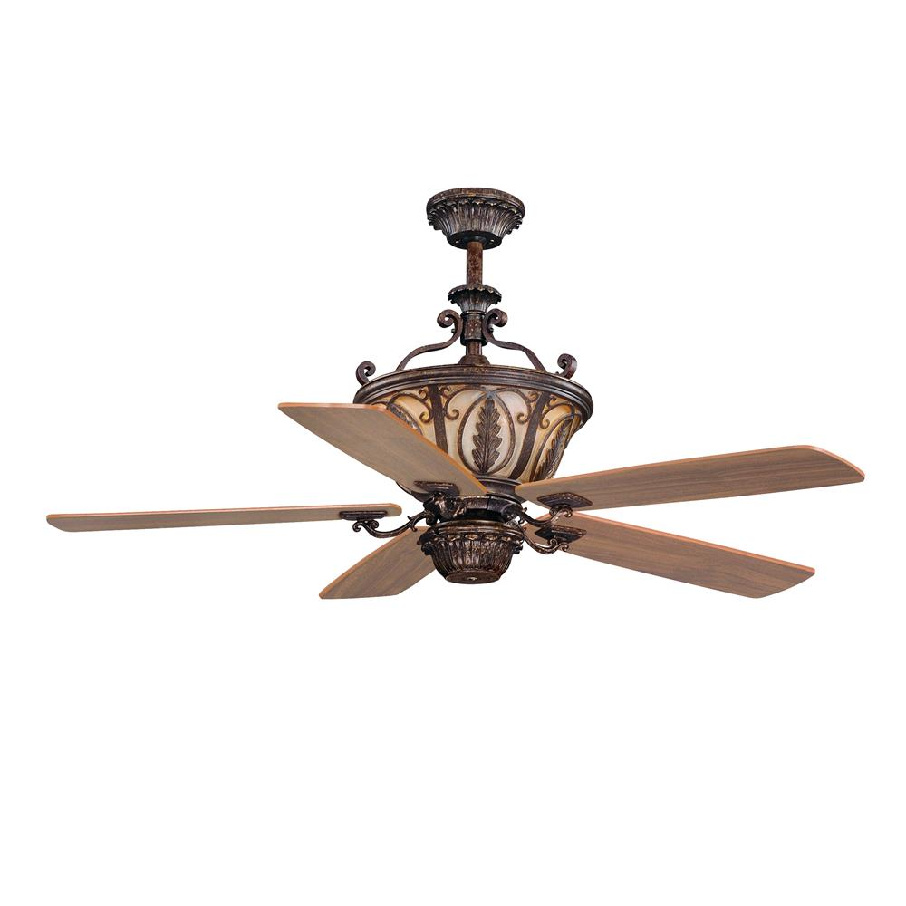 "Vaxcel Lighting FN56312FP Dynasty 56"" Ceiling Fan Forum Patina"