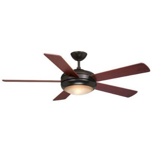 "Vaxcel Lighting FN52243OBB Rialta 52"" Ceiling Fan Oil Burnished Bronze"