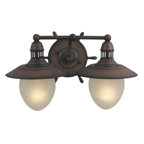 Tropical Indoor Wall Sconces : Nautical Wall Sconce Indoor - Vaxcel Lighting Wl25501rc Nautical 1 Light Indoor Wall Sconce In ...