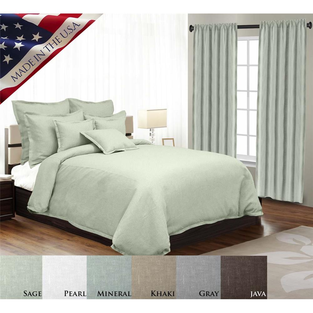 Veratex 563010 King Duvet Cover in Pearl