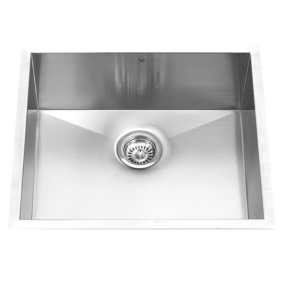 27 Undermount Sink : ... Undermount Stainless Steel 16 Gauge Single Bowl Kitchen Sink (27 X 24