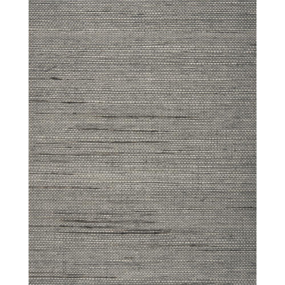 Washington Wallcoverings BA 460 Silver Gray Sisal Grasscloth