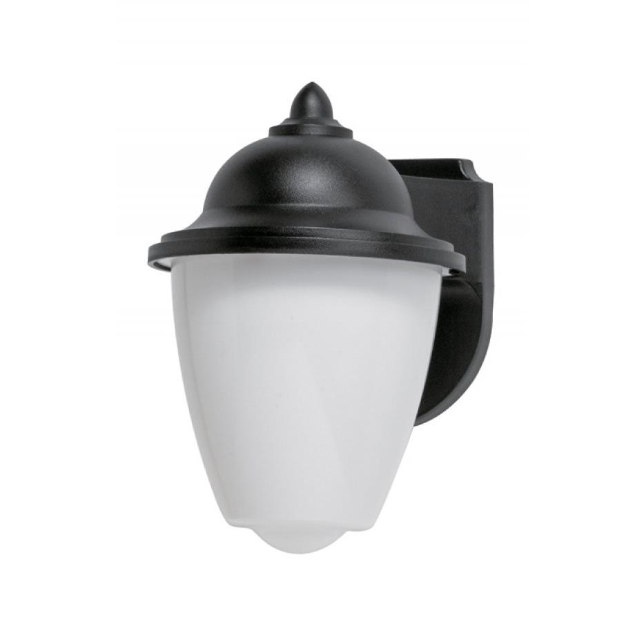 785-BK - Wave Lighting 785-BK Park Point Porch or Utility Wall Mount in Black - GoingLighting
