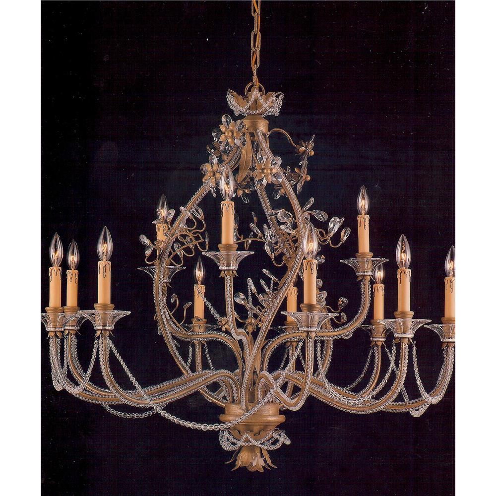 8912D32GT-GT/EC - Elegant Lighting 8912D32GT-GT/EC Majestic 12 Light. Antique  Reproduction ... - Antique Reproduction Chandeliers Antique Furniture