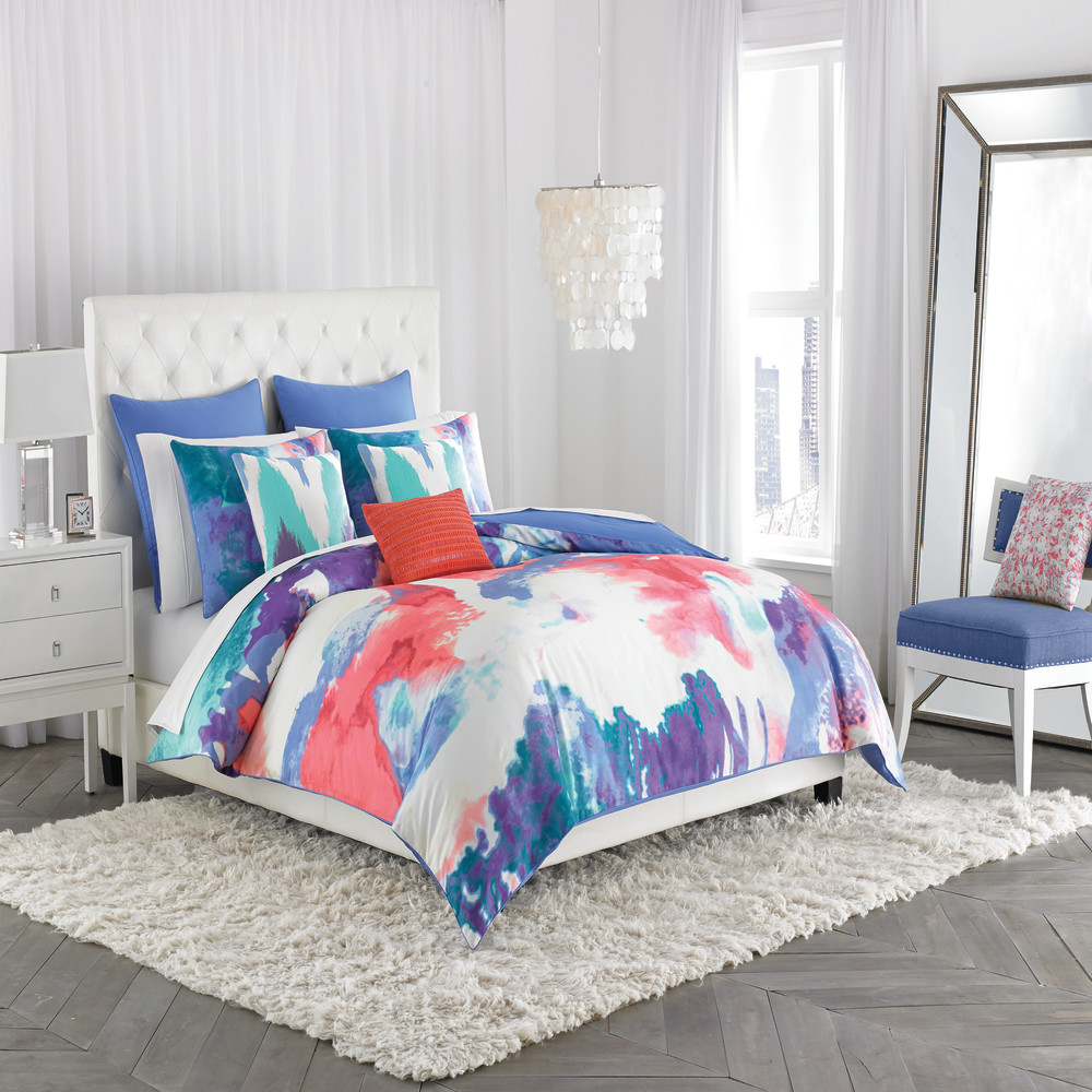 West Point Home 1C00323 Amy Sia Painterly Full/Queen Duvet Cover