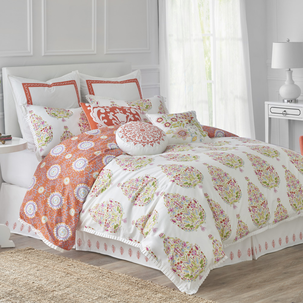 West Point Home 1C09876 Dena Home Santana Twin Duvet Cover
