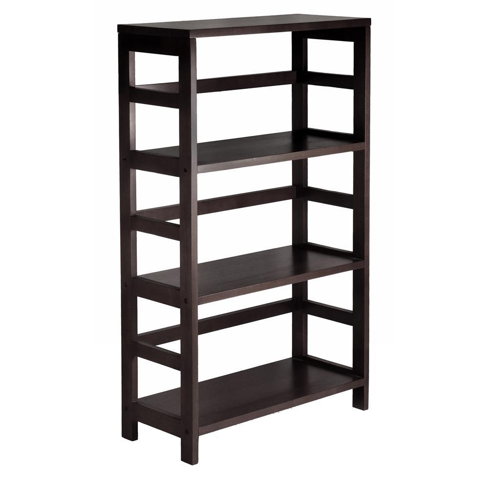 Winsome 92425 Leo Shelf / Storage, Book, 3-Tier Wide in Espresso