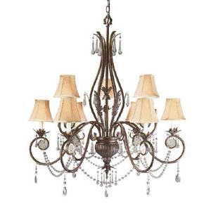World Imports Berkeley Square 753-62 9 Lt. Chandelier