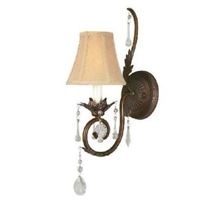 World Imports Berkeley Square 754-62 1 Lt. Wall Sconce