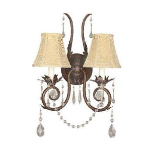World Imports Berkeley Square 755-62 2 Lt. Wall Sconce