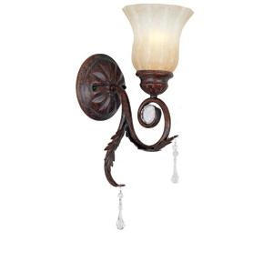 World Imports Berkeley Square 8036-62 1 Lt. Bath Light