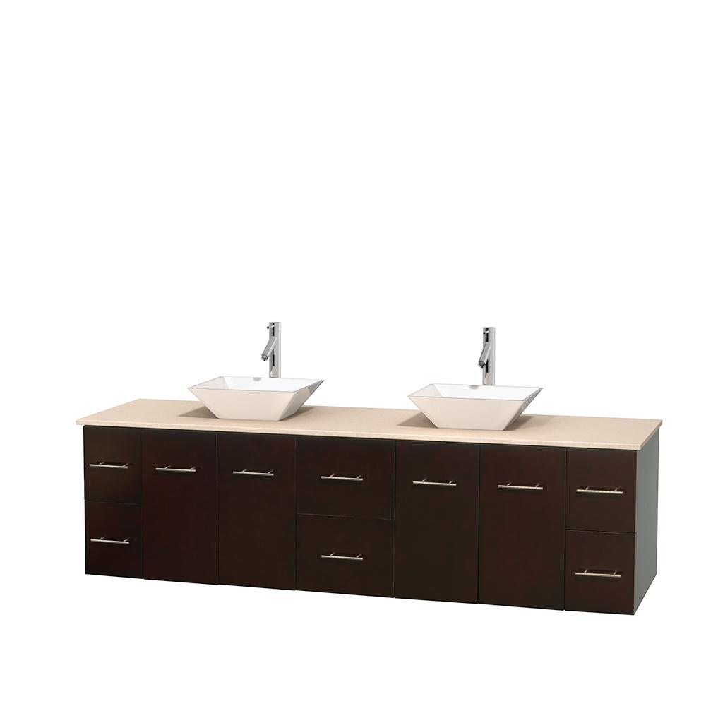 Wyndham collection amare espresso 30 inch single bathroom vanity with - Bathroom Vanities Vanity Installation Type Wall Mount