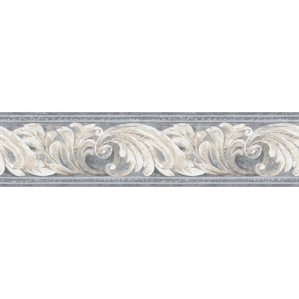 Inspired by Color by York Wallcoverings BG1702BD Border Book Architectural Border