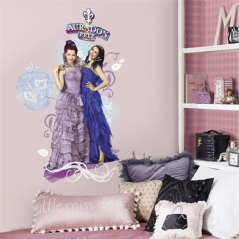 RoomMates by York  RMK2853TB Descendants Mal and Evie Peel and Stick Wall Graphic in Multi