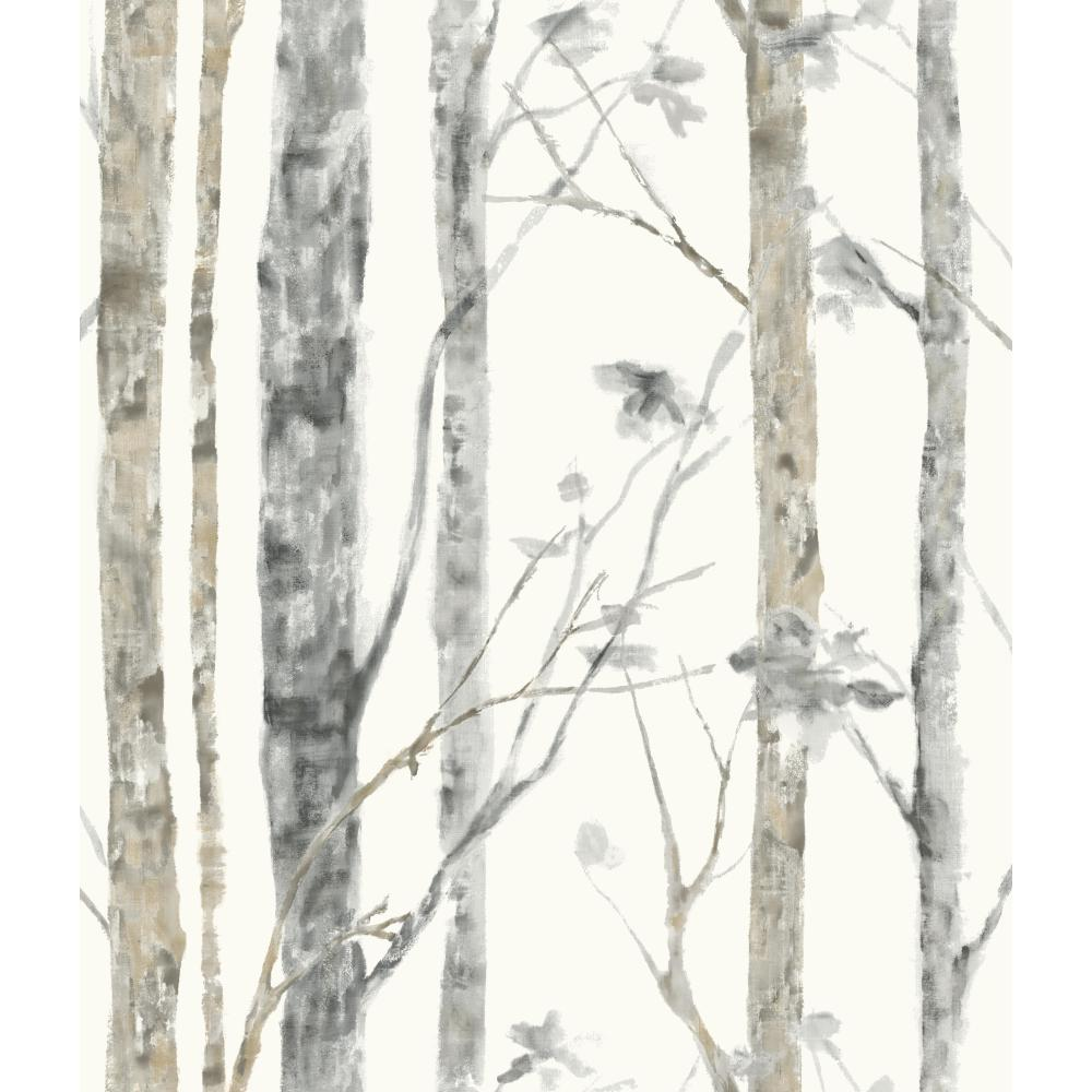 Roommates by York RMK9047WP Birch Trees Peel and Stick Wall Decor