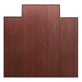 Anji Mountain 47 Inch x 51 Inch DARK CHERRY Bamboo Tri-Fold Office Chair Mat AMB0500-1003
