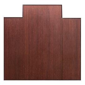 Anji Mountain 47 Inch x 51 Inch DARK CHERRY Bamboo Tri-Fold Office Chair Mat AMB0500-1003