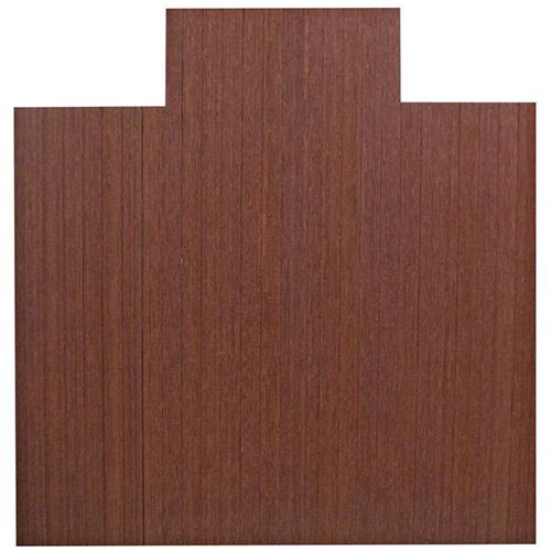 Anji Mountain 55 Inch x 57 Inch DARK CHERRY Bamboo Roll-Up Chair Mat AMB24009