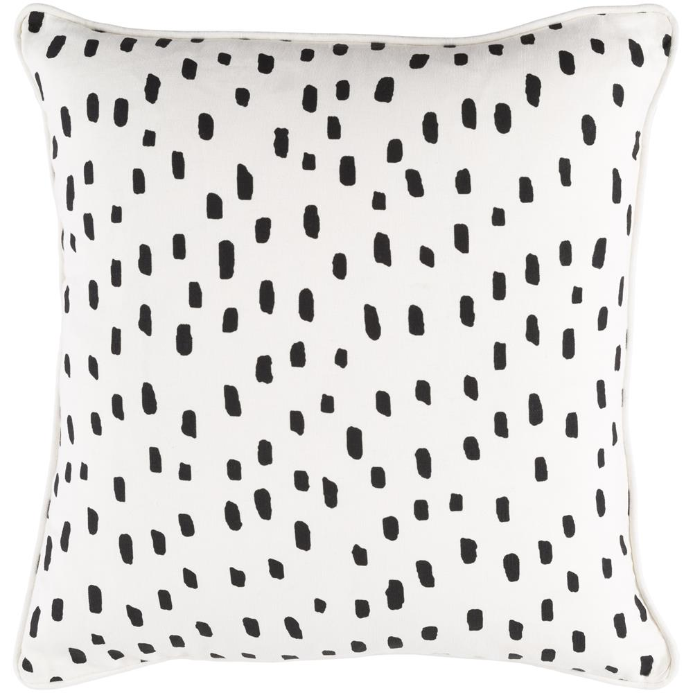 Artistic Weavers GLYP7074-1818D Glyph Dalmatian Dot Cover and Down Insert